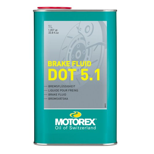 MOTOREX BRAKE FLUID DOT 5.1 1LT