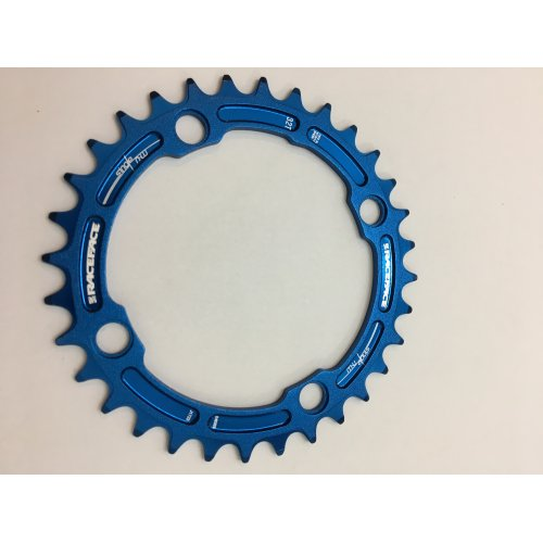 плоча  RACEFACE Chainring 32t Single Narrow Wide BCD 104mm 4 bolts Blue