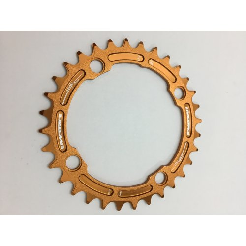плоча  RACEFACE Chainring 32t Single Narrow Wide BCD 104mm 4 bolts Orange