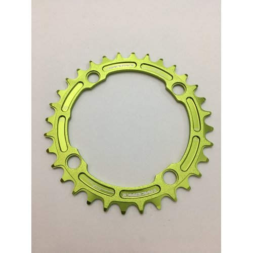 плоча  RACEFACE Chainring 32t Single Narrow Wide BCD 104mm 4 bolts Green