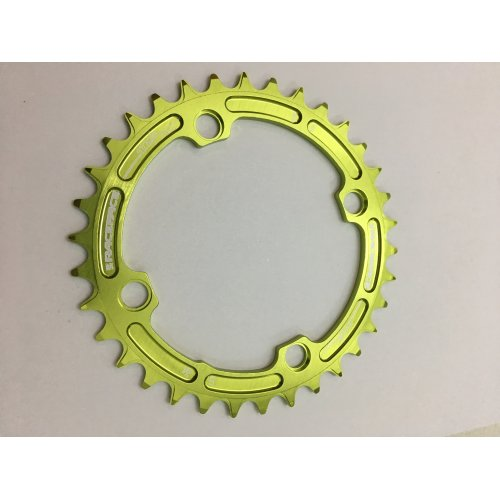плоча  RACEFACE Chainring 34t Single Narrow Wide BCD 104mm 4 bolts Green