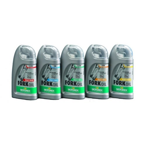 масло Motorex  2.5W / 5W / 7.5W / 10W / 15W  Racing Fork Oil 100 ml