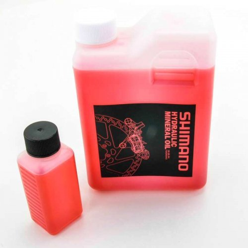 mineral oil Shimano 100ml for disc brakes