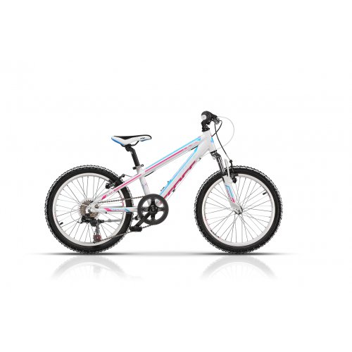 "Детски велосипед 20"" CROSS Speedster AL white-pink"