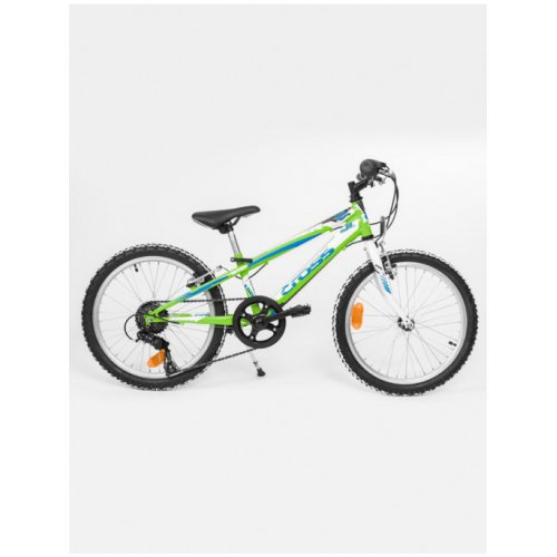 "Детски велосипед 20"" CROSS Speedster Steel green"